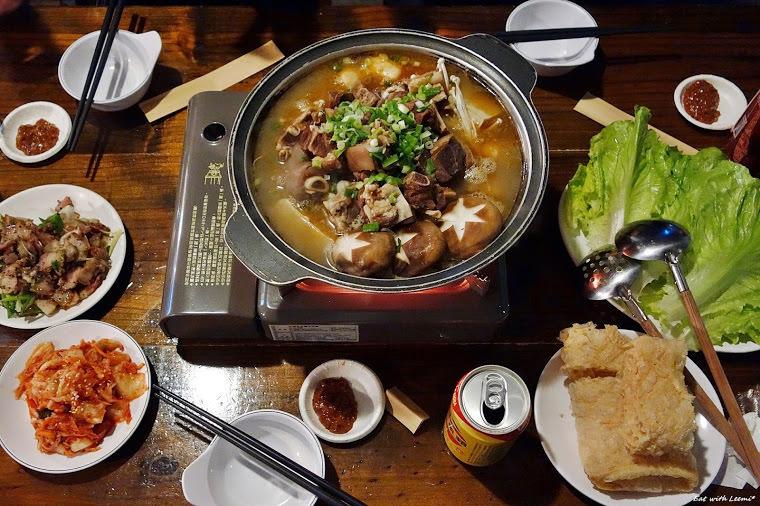 羊肉湯鍋(車庫羊肉爐)-台北/中山國中/合江街