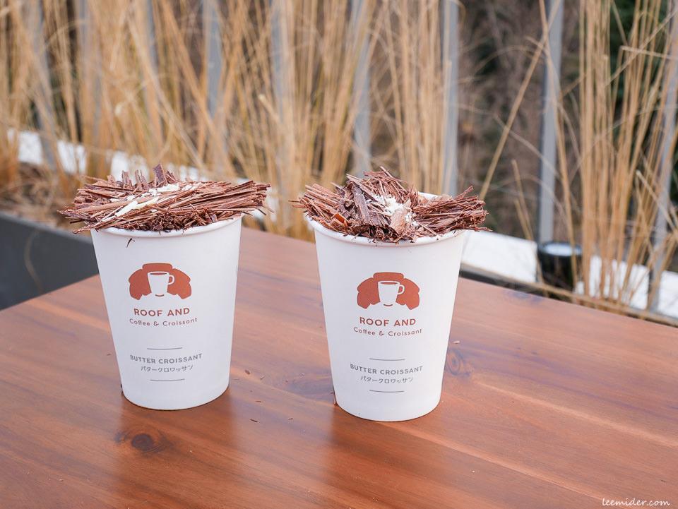 釜山咖啡店 Roof And 生巧克力拿鐵 屋頂欣賞龍頭山公園、釜山塔及南浦洞光復路夜景