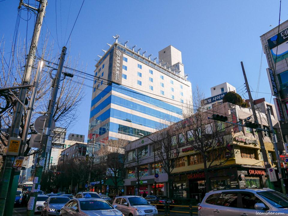 釜山住宿 Arban City Hotel 地鐵1&3號線蓮山站 阿爾班市酒店(阿班城市飯店)