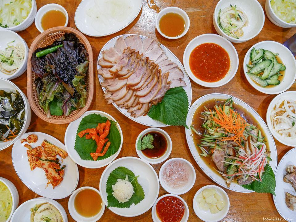 元祖釜山豬腳원조부산족발 白鍾元的三大天王推薦涼拌冷盤豬蹄 韓國自由行美食