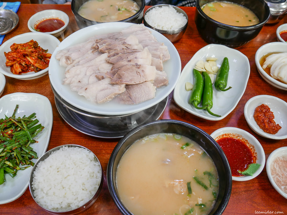 雙胞胎豬肉湯飯쌍둥이돼지국밥 釜山大淵站名店 韓國自由行美食