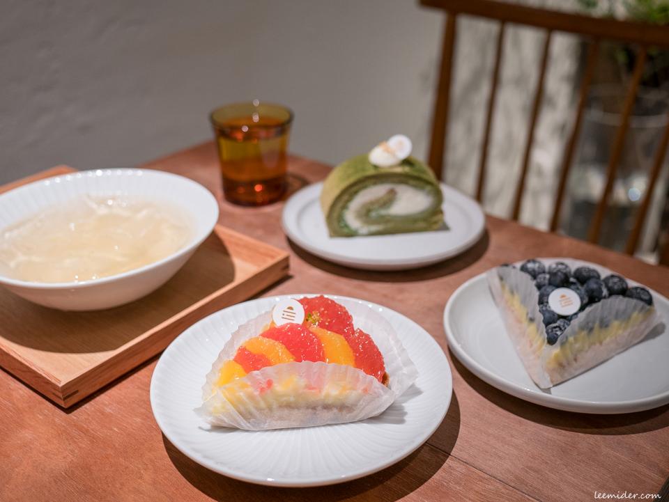 琥珀氏x果昂甜品二店,吃得到手工愛玉,水果塔&蛋糕捲,台北中山國小站甜點下午茶