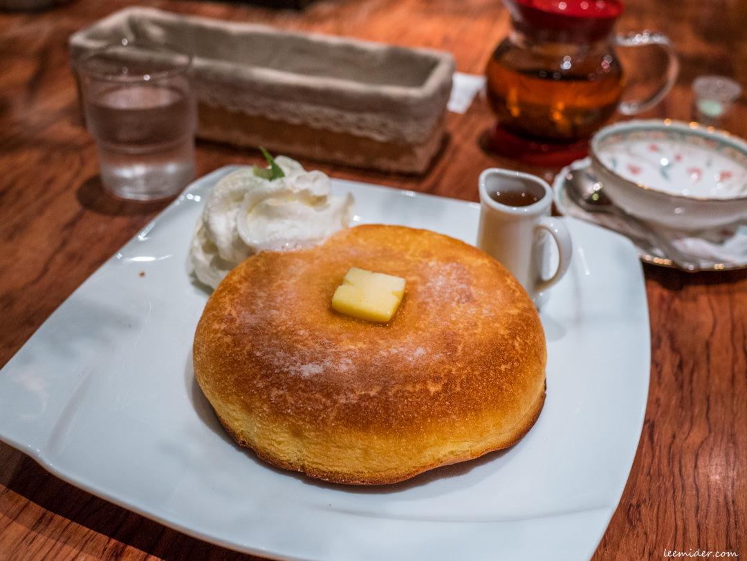 東京神保町甜點午茶-石釜bake bread茶房TAM TAM,鬆厚酥香的烤鬆餅套餐