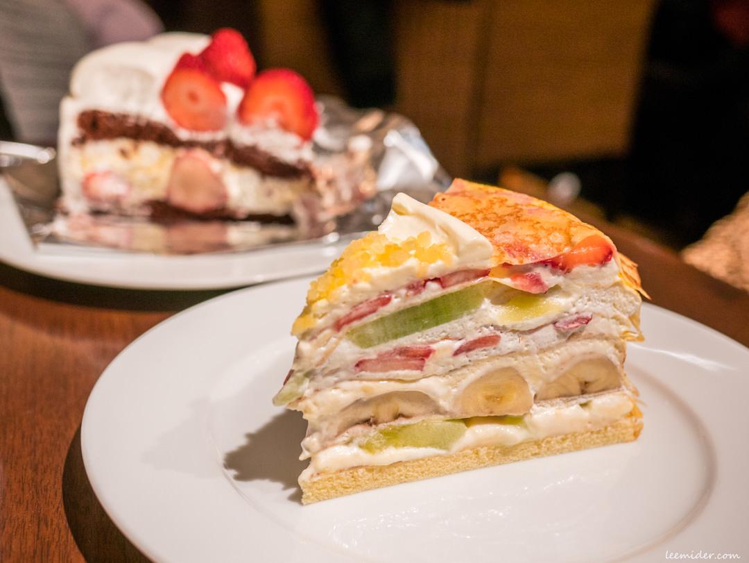 日本東京HARBS-大人氣的水果千層蛋糕甜點,推薦假日也有的午間套餐更划算
