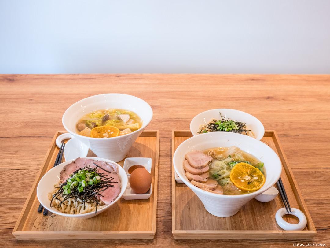 台北六張犁,柑橘Shinn-柑橘加熱滷味,特色湯頭搭自選蔬菜&東京乾拉麵,大安區美食推薦