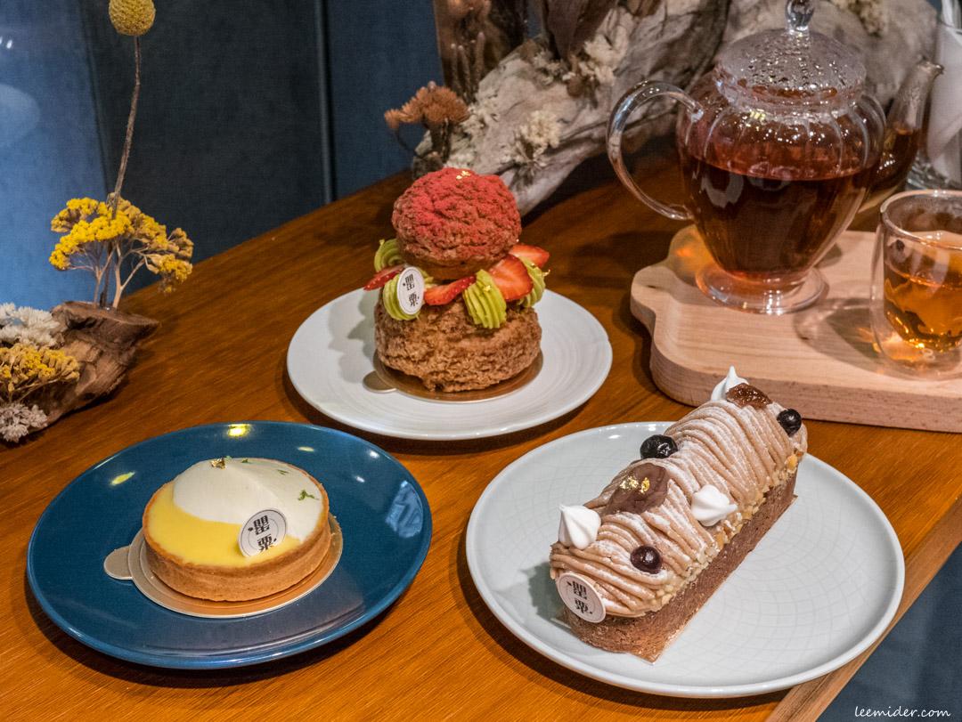 台北信義安和下午茶-罌粟甜點Coquelicot Pâtisserie,巷子內小巧的法式甜點店