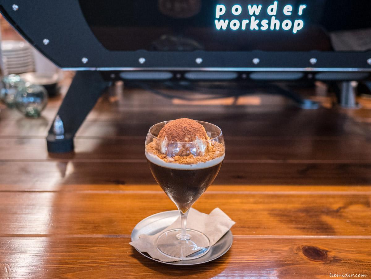 Powder workshop夏季限定的冰淇淋咖啡凍