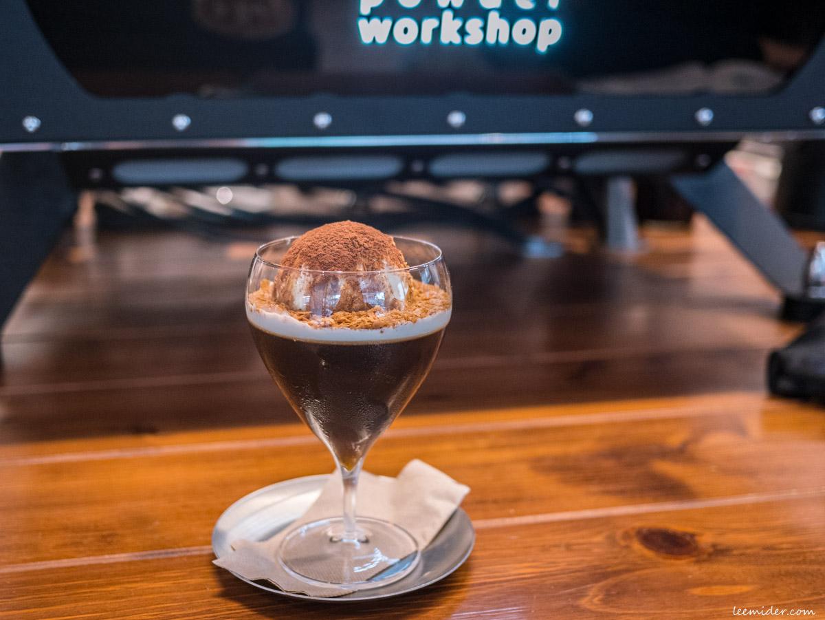 Powder workshop的冰淇淋咖啡凍
