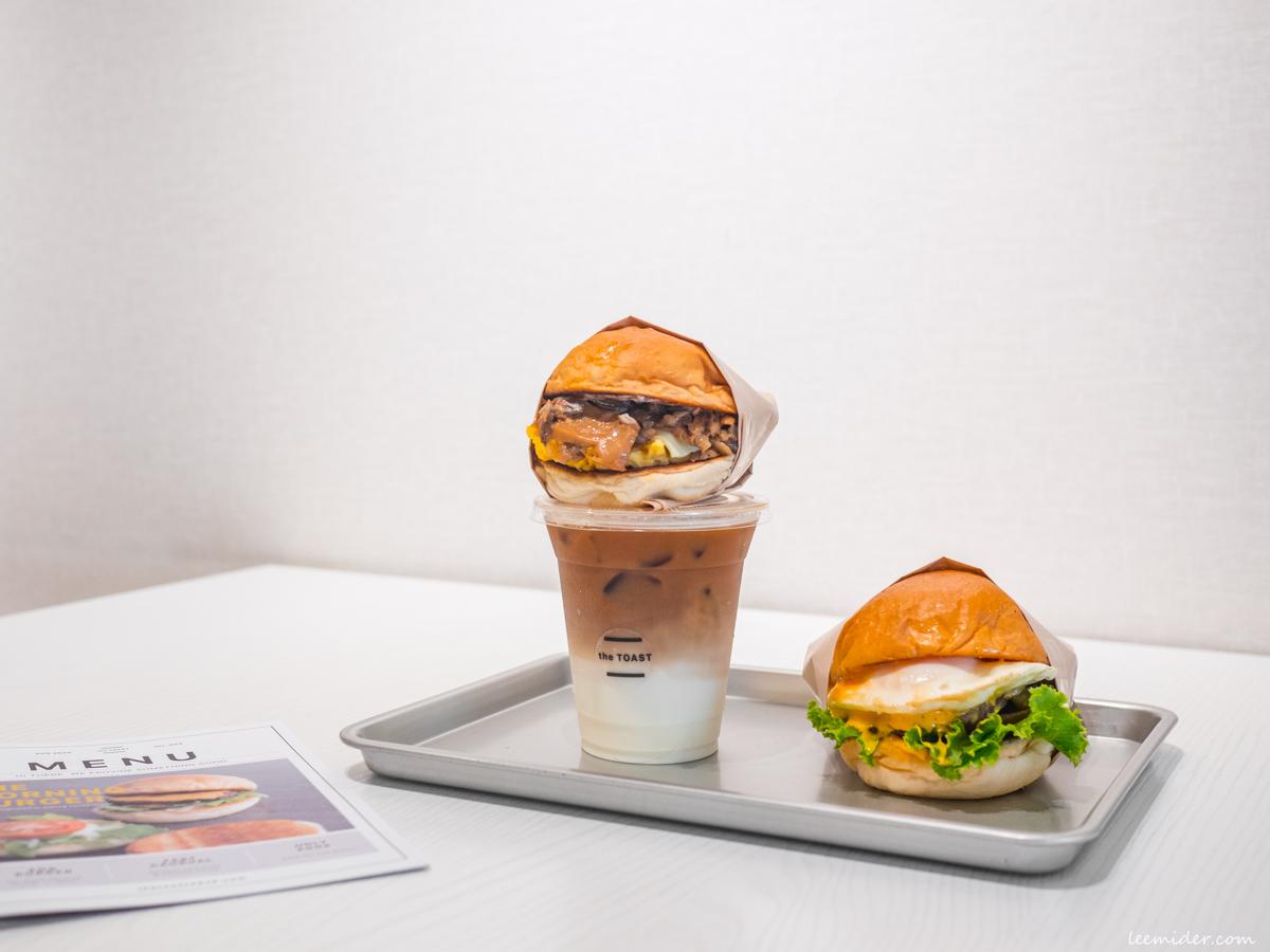 The TOAST,新北三重近新莊,簡約質感早餐店,好吃不貴的漢堡和三明治,蛋餅專賣