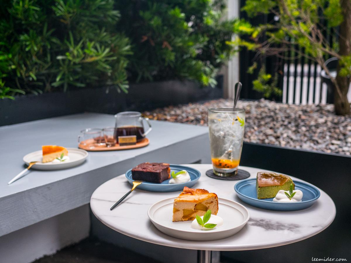 台北大安區-Cosmoship宇宙小艇搬新家,巴斯克乳酪&磅蛋糕專賣,有戶外區的甜點咖啡店