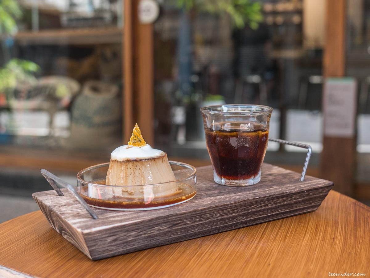 台北大同區-BEAN BARN豆荒良倉,雙連街上的自家烘焙咖啡店,單品咖啡布丁概念有趣